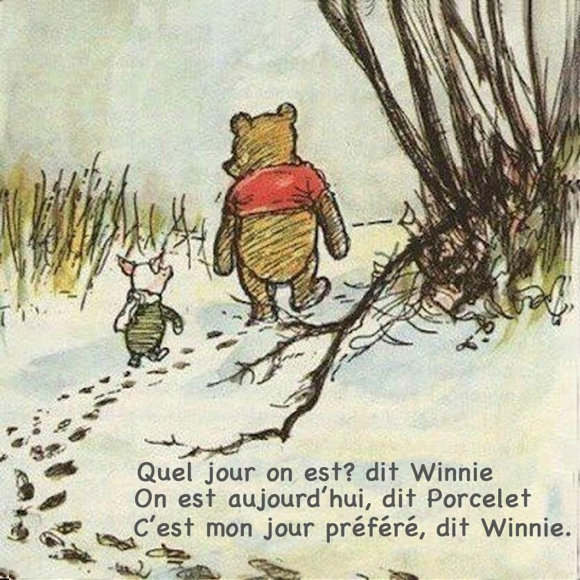 Photo Quel jour on est Winnie
